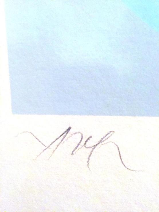 Jean Arp Le Soleil Recerclé Signed woodcut print