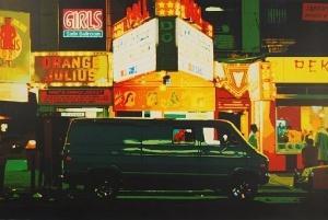 Noel Mahaffey NIGHT TIMES SQUARE City-Scape Portfolio
