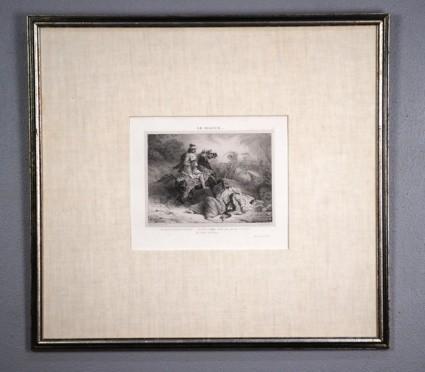 Théodore Gericault, Le Giaour (The Infidel) 1823 Original Lithograph