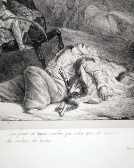Théodore Gericault, Le Giaour (The Infidel) 1823 Original Lithograph