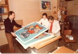 Karel Appel Signs Print edition
