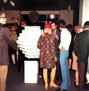 Constructivism opening Party London Art Gallery 1973