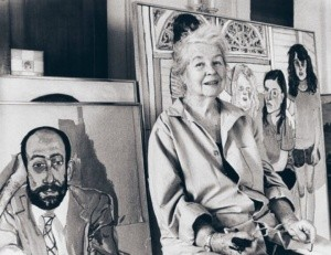alice neel in her studio